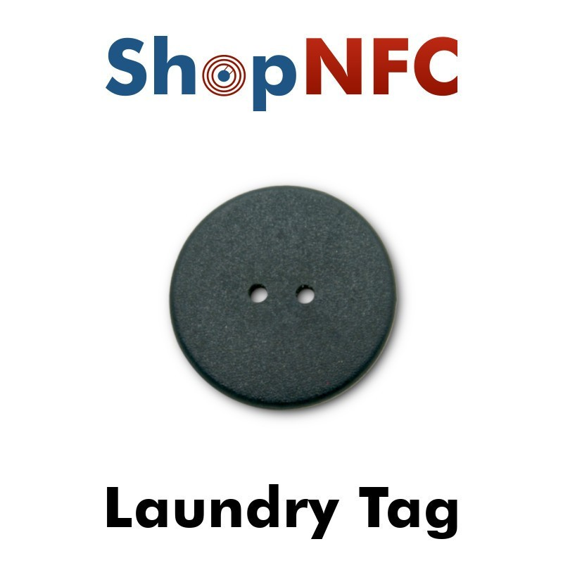 NFC Laundry Tag NTAG213 24mm