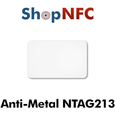 Etiqueta NFC antimetal NTAG213 adhesiva 26,5x42mm