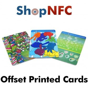 Custom NFC Cards - Offset Printing