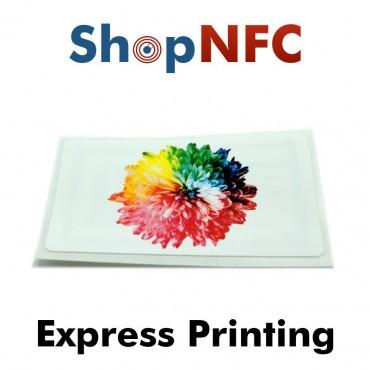 Personalisierte NFC Etiketten - Express Druck