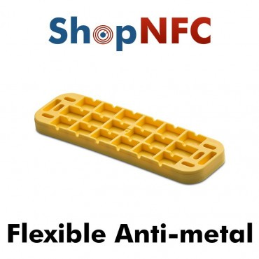Etiqueta NFC industrial IP68 ICODE® SLIX flexible antimetal