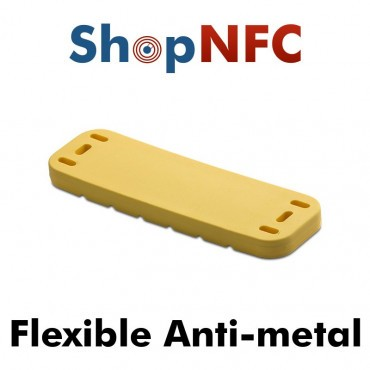 Tags NFC industriels IP68 ICODE® SLIX flexible anti-métal
