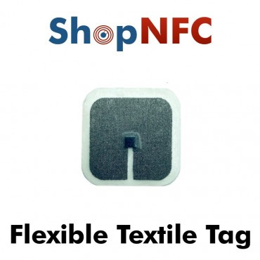Etiqueta NFC Textil Flexible NTAG212 30x30mm