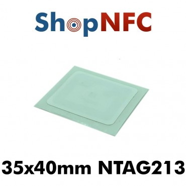 Confidex Links L NFC-Label NTAG213 IP68 35x40mm