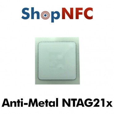 NFC On-Metal Klebetags NTAG210μ/NTAG213 IP68 25x25mm