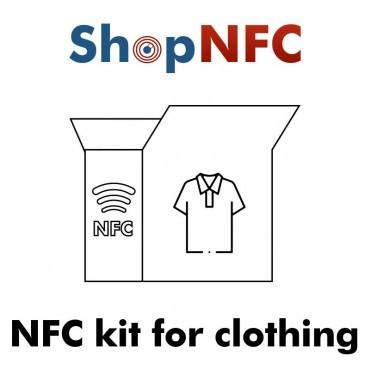 Kit de etiquetas NFC para ropa