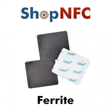 Ferrite for Anti-Metal NFC Stickers