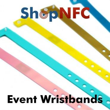 Bracelets jetables Slim NTAG213 - Personnalisable