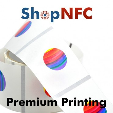 Etiqueta NFC personalizada - Impresión Expresa Premium