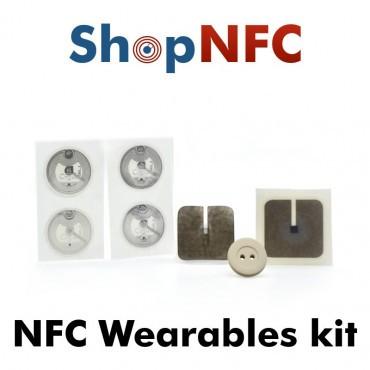 Kit di Tag NFC per capi di abbigliamento