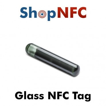 Tag NFC in vetro ICODE SLIX2 4x22mm