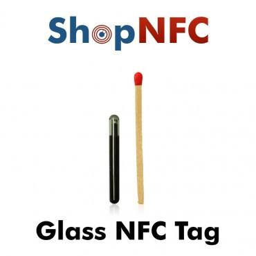 Étiquettes NFC en verre ICODE SLIX2 4x22mm