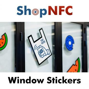 Autocollants NFC de fenêtre