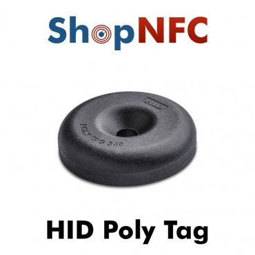 HID Poly Tag Etiqueta Industrial IP68 ICODE SLIX 34mm