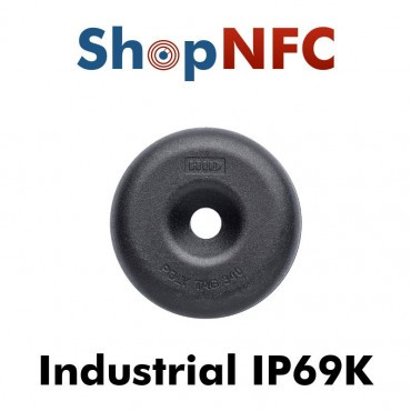 Industrial IP68 HID Poly Tag  ICODE SLIX 34mm