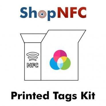 NFC-Kit mit kundenspezifischen Musterprodukten