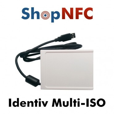 Identiv Multi-ISO NFC Reader with Keyboard Emulation