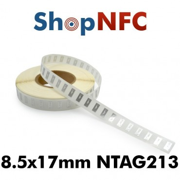 NFC Stickers NTAG213 8.5x17mm