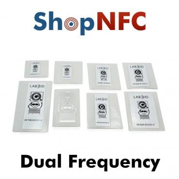 Kit Lab ID - Etiquetas Dual-frequency NFC/UHF
