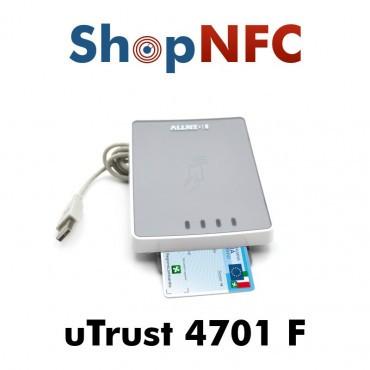 uTrust 4701 F - Lector de tarjetas inteligentes de interfaz dual
