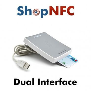 uTrust 4701 F - Lecteur de carte à puce à double interface