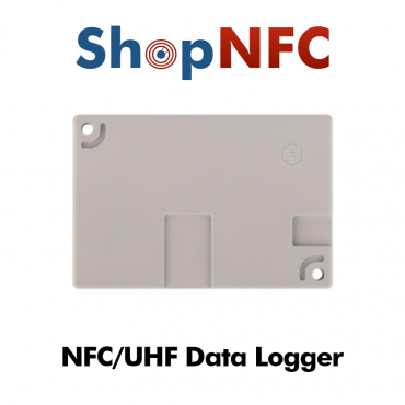 NFC/UHF Temperature Sensor with Data Logger