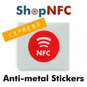 Tags NFC Anti-Métal Personnalisés - Impression Express Premium