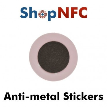Custom Printed NFC Stickers for Metal - Premium Express