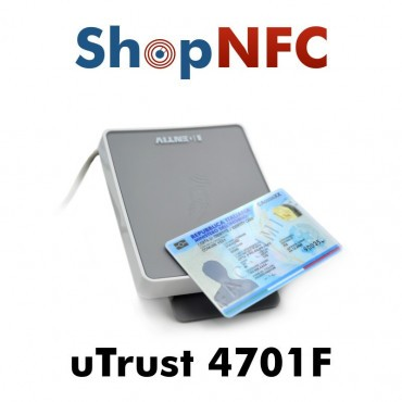 uTrust 4701 F - Lecteur de carte à puce à double interface