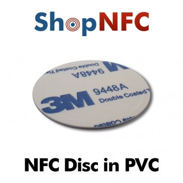 Tag NFC 1k in PVC adesivo