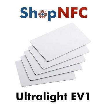 Cartes NFC en PVC NXP MIFARE Ultralight® EV1