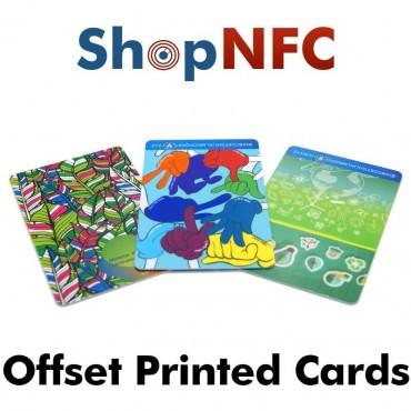 Cartes NFC en PVC NXP ICODE® SLIX-S