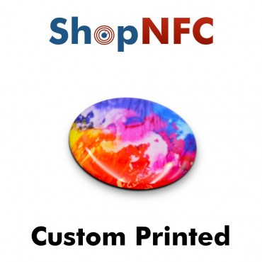Geharzte NFC On-Metal Klebetags 29mm