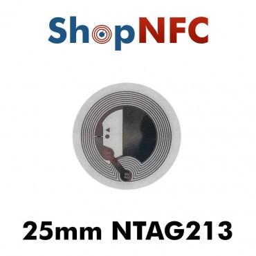 NFC Klebetags NTAG213 ø25mm