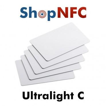 Cartes NFC en PVC NXP MIFARE Ultralight® C
