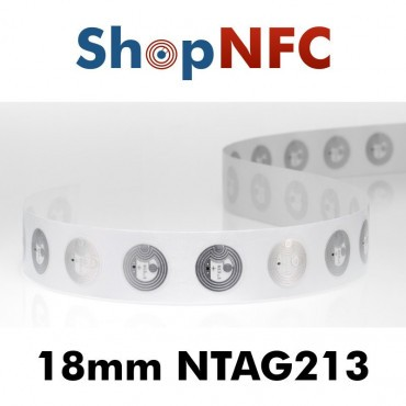 NFC Klebetags NTAG213 ø18mm