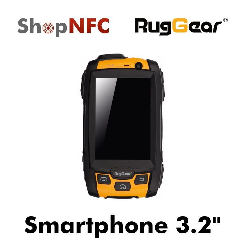 Smartphone NFC Rugged RugGear Swift RG500