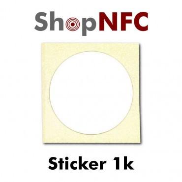 Tags NFC 1k adhésifs 25mm
