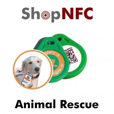 Animal Rescue - Plaque NFC