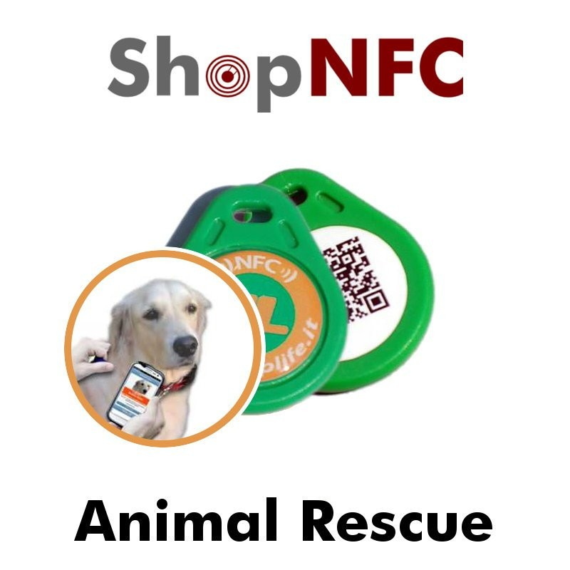 Animal Rescue - Plaque NFC