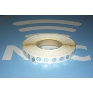 Tags NFC NTAG215 adhésifs