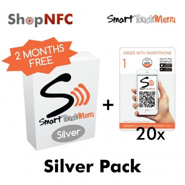 Smart Touch Menu - Silver Pack