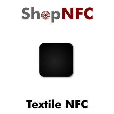 Stiff Textile NFC Tags Ntag212