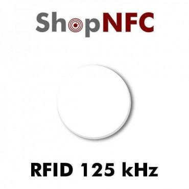 Tag in PVC adesivo Rfid 125 kHz r/o