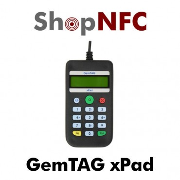 GemTAG xPad - NFC reader with keypad