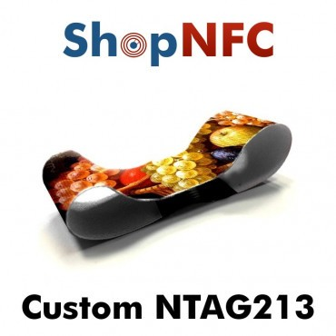 Bracelets NFC textiles élastiques NTAG213