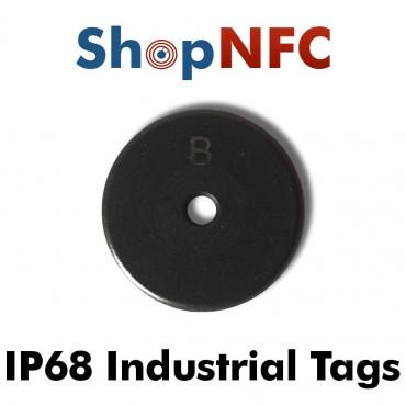 Disques NFC industriels IP68 Ntag213 Anti-Métal 22mm