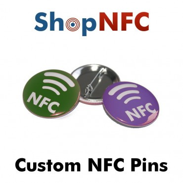 Spillette NTAG213 metalliche con logo NFC