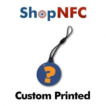 Anhänger NTAG213 mit NFC Logo - Personalisierbar