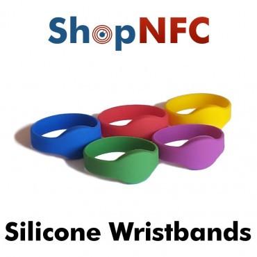 Pulsera NFC de silicona - Low Cost